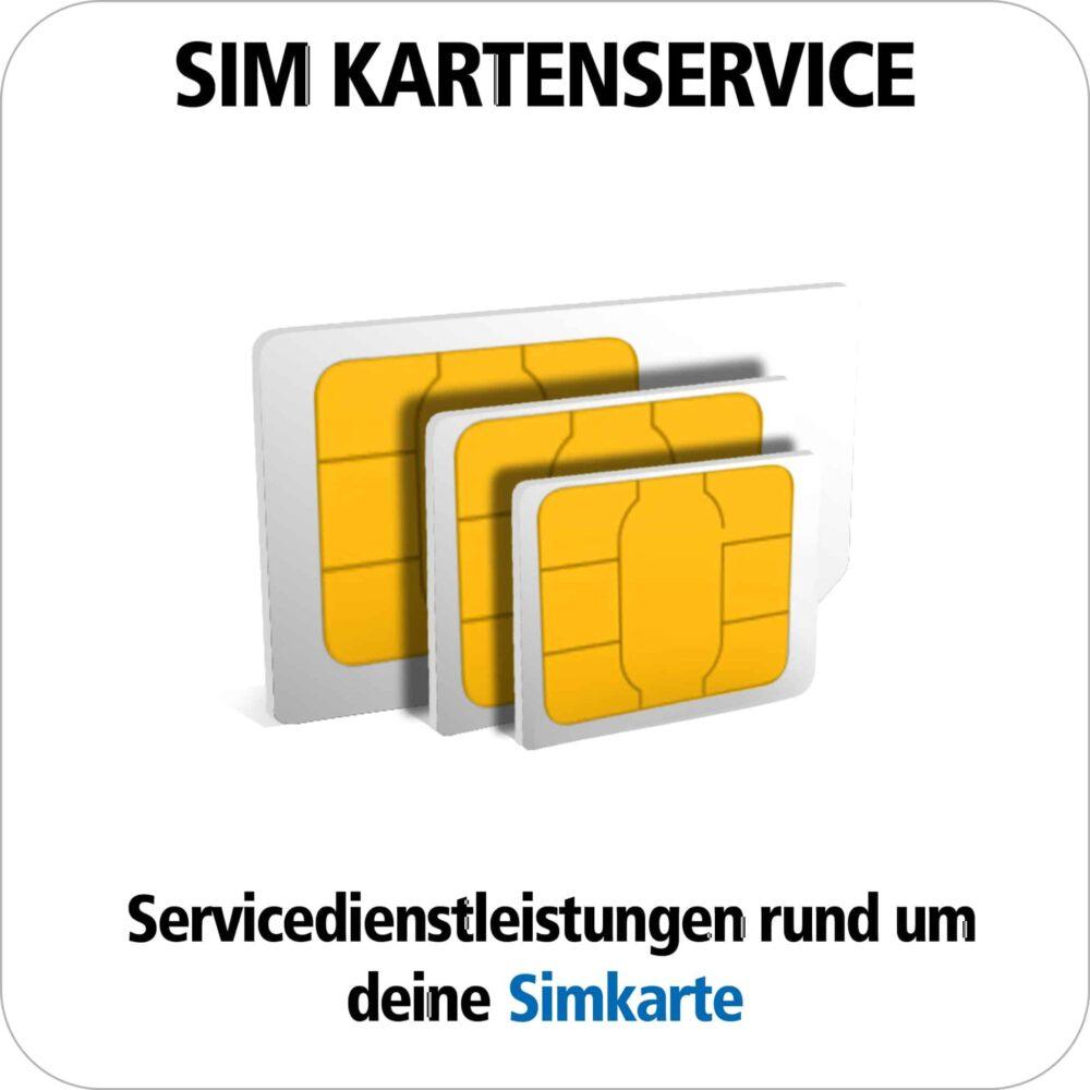 SIM-Karten Service: Wir helfen Ihnen weiter